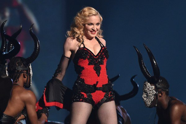 Spevácka hviezda Madonna.