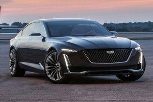 Štúdia luxusného sedanu Cadillac Escala. Zo štúdie Escala, predstavenej na súťaži elegancie v Kalifornii, bude zrejme odvodený sériový model, ktorý bude vlajkovou loďou sortimentu firmy Cadillac.