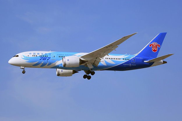 China Southern Airlines, Boeing 787-8 Dreamliner.