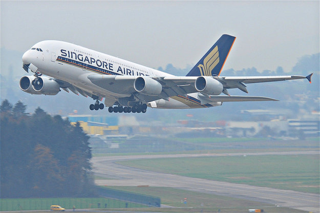 Singapore Airlines, Airbus A380-841.