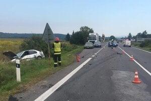 Havária nad Lučencom.