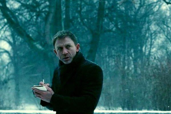 Daniel Craig vo filme Muži, ktorí nenávidia ženy.