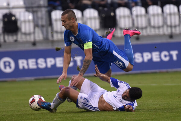 Vlani v októbri slovenská dvadsaťjednotka Cyprus doma zdolala 2:0.