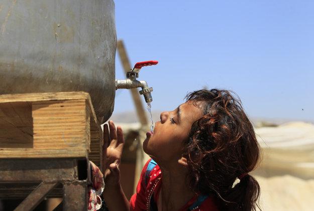 Nedostatok vody pociťujú aj Sýrsky utečenci.