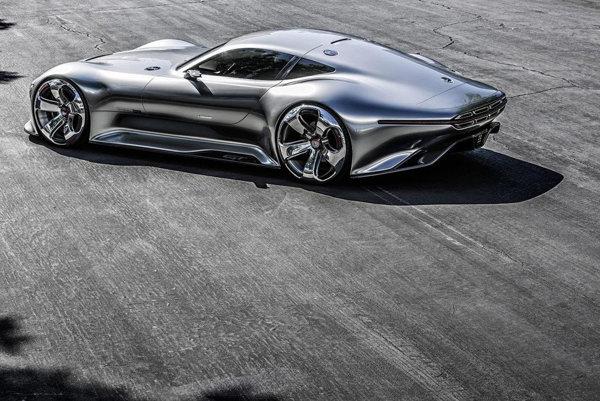Koncept Mercedes-Benz AMG Vision GT by sa mohol stať základom sériového auta.