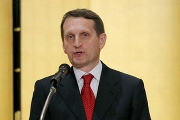 Sergej Naryškin.