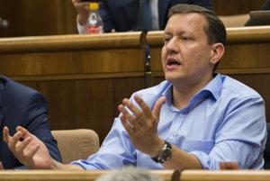 Poslanec NR SR Daniel Lipšic (OĽaNO-NOVA).