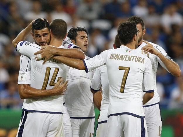 Taliani vyhrali v Izraeli aj s červenou kartou.