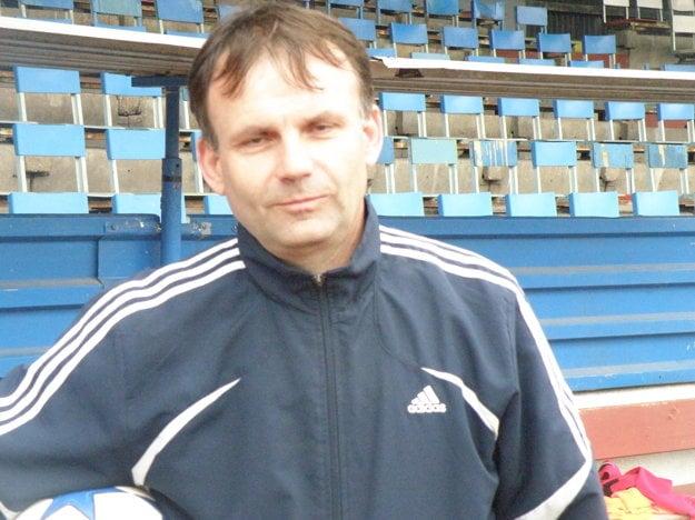 Prezident FC Union Nové Zámky Peter Bábin