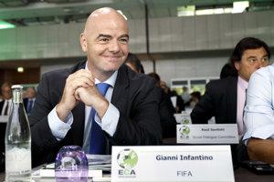 Infantino je naklonený myšlienke, aby na majstrovstvách sveta hralo viac krajín.