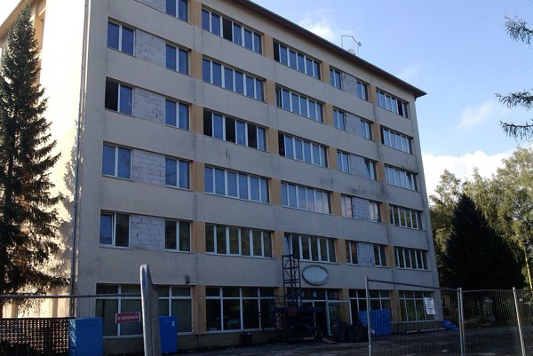 Bývalá administratívna budova spoločnosti Agro Racio.