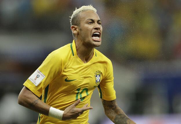 Neymar rozhodol o výhre Brazílie.