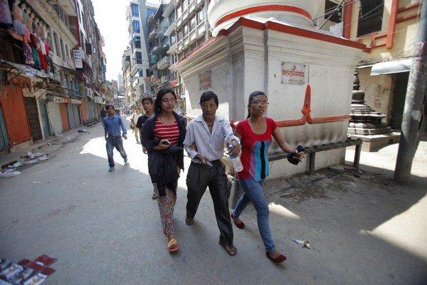 V Nepále sa opäť triasla zem.