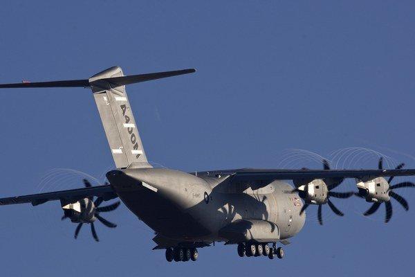 Do Nemecka doteraz dodali len jedno lietadlo typu A400M.