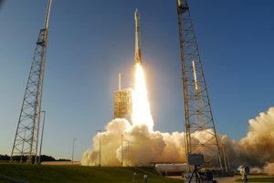 Štart misie OSIRIS-REx.