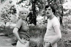 So skladateľom Viliamom Vaškovičom v roku 1978.