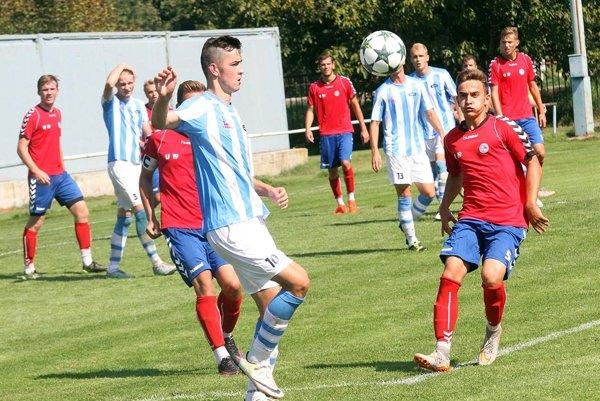V popredí útočník Marek Fábry, ktorý figuruje aj v reprezentácii SR U19.