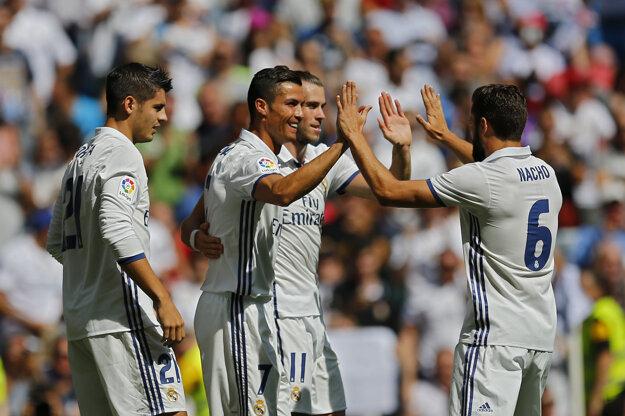 Ronaldo pri svojom návrate strelil gól.