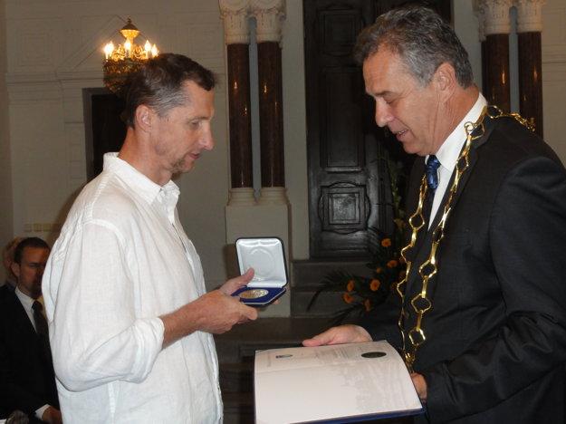 Čestné občianstvo dostal aj Antonín Stavjaňa.
