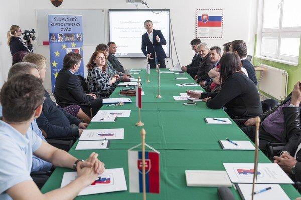 Na workshop prišli zástupcovia zo všetkých krajín V4.