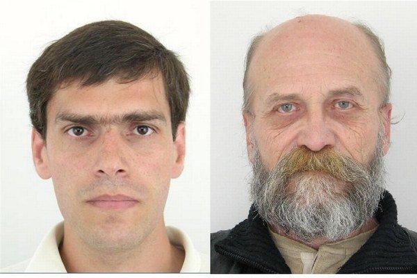 Roman Stojka (vľavo) a Emil Grman(vpravo).
