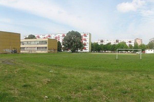 Areál bývalej ZŠ Gagarinova.