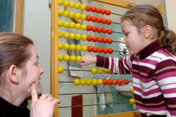 Deti počas zápisov ukazujú, čo už vedia.