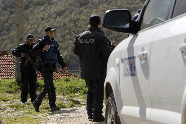 Polícia zaistila miesto činu. Dôkazy o ilegálnom prekročení hranice zločineckou skupinou nenašli.