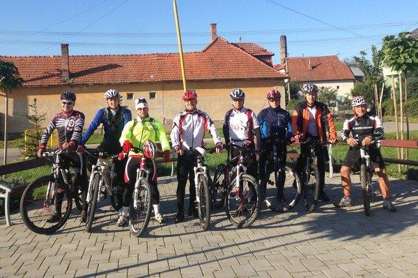 V regióne máme veľa vášnivých cyklistov.