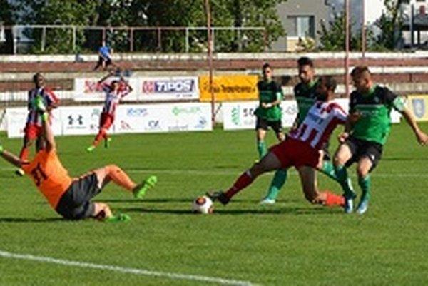 Militosyana síce v tomto momente brankár hostí vychytal, tri body ale zostali v Topoľčanoch.