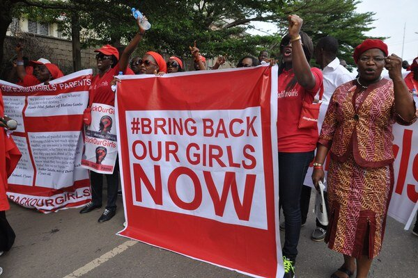 Unesené dievčatá boli témou aj v nedávnych nigérijských prezidentských voľbách.