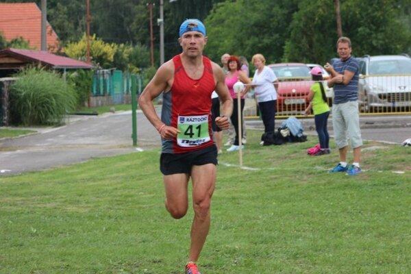 Tomáš Benko - víťaz pretekov.