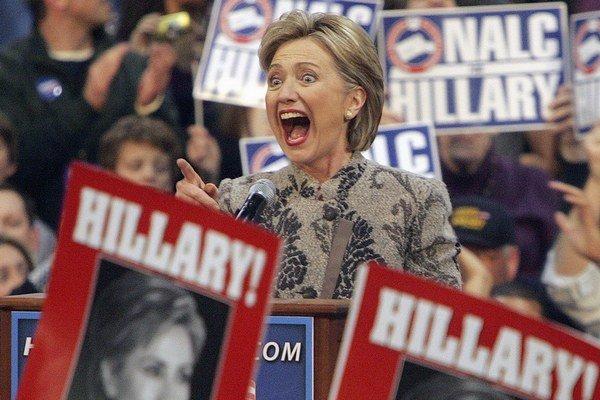 Clintonová chcela za prezidentku kandidovať aj v roku 2008. Prehrala s Obamom.