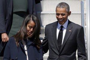 Dcéra prezidenta Baracka Obamu sa musí naučiť žiť ako normálne deti. A to znamená aj vedieť šoférovať.