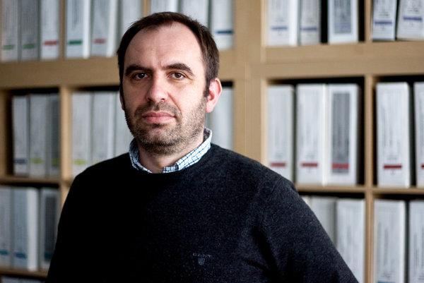 Podnikateľ Ivan Štefunko má 39 rokov a chuť založiť novú stranu.