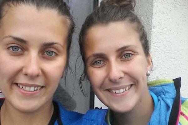 Úspešné volejbalové duo.