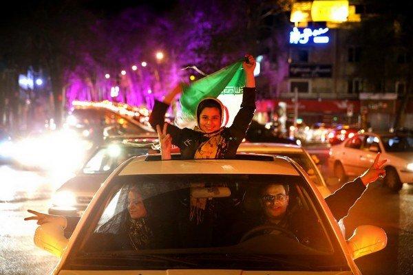 Iránci veria, že konečne majú šancu dostať sa z medzinárodnej izolácie.