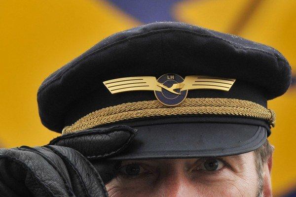 Pilot spoločnosti Lufthansa.