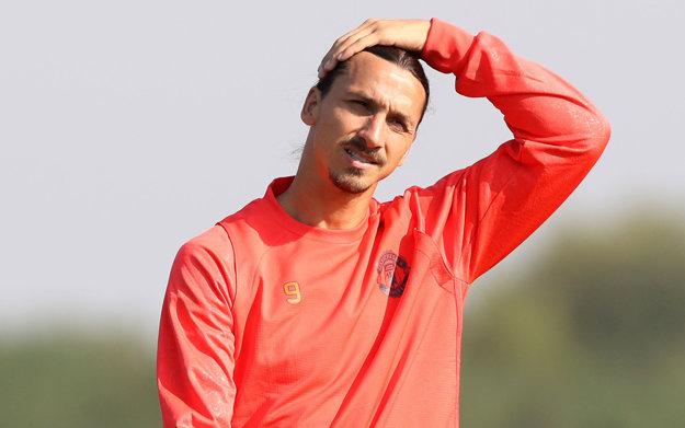 Na Feyenoord sa pripravuje aj vo forme hrajúci Zlatan Ibrahimovič.