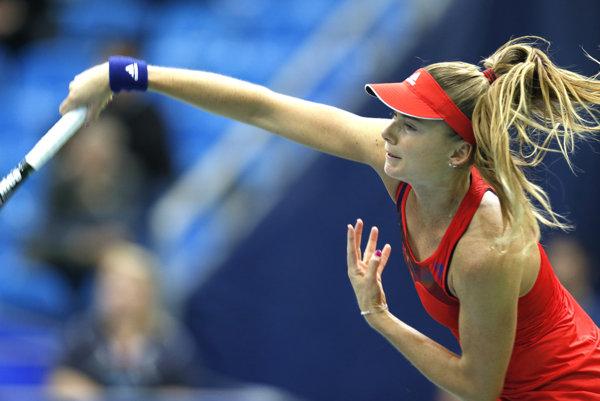 Slovenská držiteľka voľnej karty Daniela Hantuchová zvíťazila za 128 minút 4:6, 6:3, 6:2 nad belgickou tenistkou Yaninou Wickmayerovou v 1. kole na turnaji v Acapulcu.