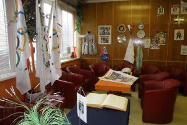 Olympijský klub Prievidza je v nových priestoroch.