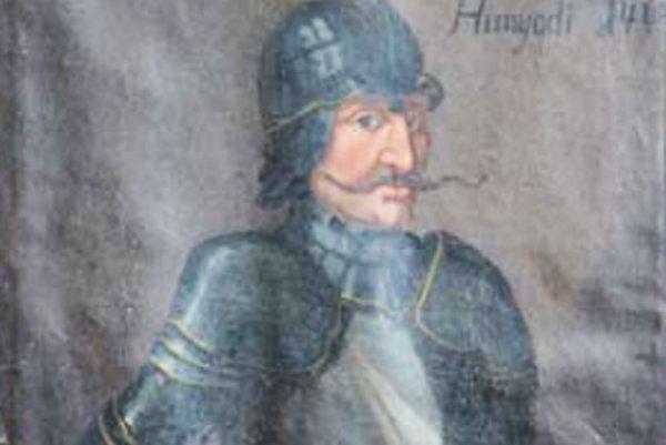 Portrét kapitána Pongráca II. Bol zručný vojak, závesný obraz je v súčasnosti v nevyhovujúcom stave.