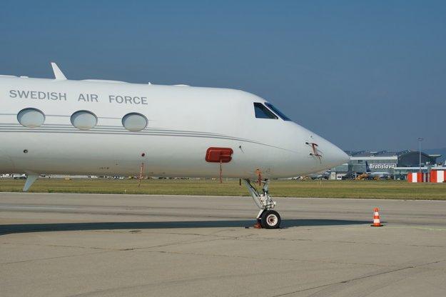 Swedish Air Force GLF5.