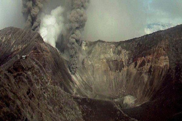 Jedna z najväčších sopiek Kostariky, 3340 metrov vysoká Turrialba.