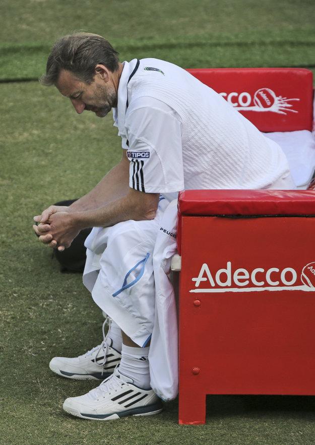 Miloslav Mečíř musí v poslednom období riešiť neúčasť najlepších slovenských hráčov.