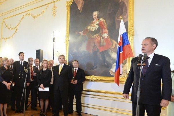 Príbeh Slovenska v EÚ je dobrým príbehom, hovorí Andrej Kiska.