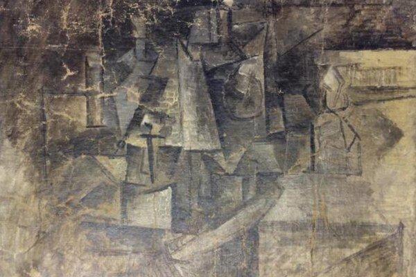 Ukradnutá Picassova maľba.