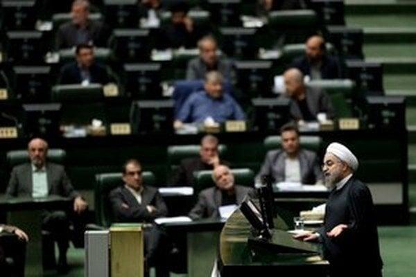 Prezident Iránu Ruhání.