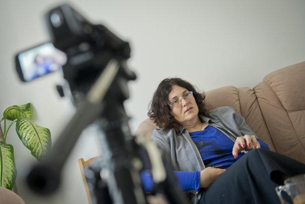 Martina Lubyová, riaditeľka Prognostického ústavu SAV.