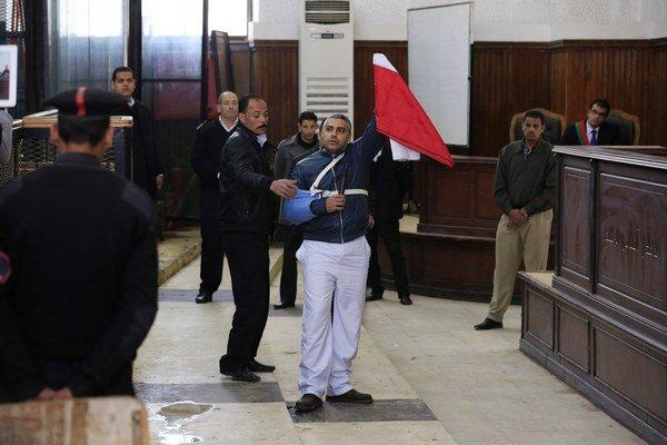 Fahmy po prepustení.